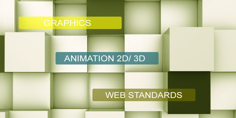 graphic design, flash animation and web standards