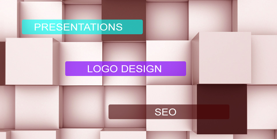 powerpoint/flash presentation, logo design and SEO (search engine optimisation)